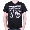 STAR WARS - TS053 - T-SHIRT STAR WARS 77 L