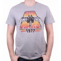 STAR WARS - TS061 - T-SHIRT STAR WARS POSTER 1977 M