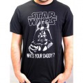 STAR WARS - TS1256 - T-SHIRT WHO'S YOUR DADDY XL
