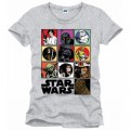 STAR WARS - TS1259 - T-SHIRT ICONS GREY S