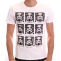STAR WARS - TS1353 - T-SHIRT STORMTROOPER EMOTIONS S