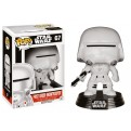 STAR WARS EPISODE VII - POP FUNKO VINYL FIGURE 67 FIRST ORDER SNOWTROOPER 10CM