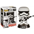 STAR WARS EPISODE VII - POP FUNKO VINYL FIGURE 74 FIRST ORDER STORMTROOPER & BLASTER LIMITED EDITION  10CM