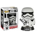 STAR WARS EPISODE VII - POP FUNKO VINYL FIGURE 75 FIRST ORDER TROOPER WITH SHIELD  10CM