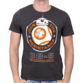 STAR WARS EPISODE VII - TS133 - T-SHIRT BB-8 ASTROMECH DROID S