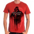 STAR WARS ROGUE ONE - TS022 - T-SHIRT VADER FADE TO RED L