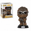 STAR WARS SOLO - POP FUNKO VINYL FIGURE 239 CHEWBACCA WITH GOGGLES 9 CM