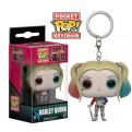 SUICIDE SQUAD - POP FUNKO VINYL KEYCHAIN HARLEY QUINN 4CM