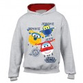 SUPER WINGS - PULLOVER HOODIE - DONNIE JEROME JETT 1-2 YEARS