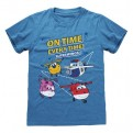 SUPER WINGS - T-SHIRT - IN TIME 5-6 YEARS