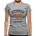 SUPERGIRL - T-SHIRT DONNA - ATHLETIC DEPART - L