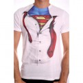 SUPERMAN - TS006 - T-SHIRT CLARK KENT SHIRT XL