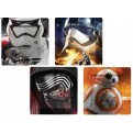 SW03072 -STAR WARS - SET 4 PIATTI: PHOTOGRAPHIC CHARACTER