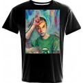 TBBT11 - T-SHIRT SHELDON ART LOSER M