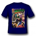 TBBT13 - T-SHIRT BAZINGA COMIC BOOK COVER L