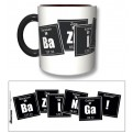 TBBT58 - TAZZA THE BIG BANG THEORY BAZINGA FORMULA BLACK