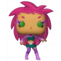 TEEN TITANS GO! THE NIGHT BEGINS TO SHINE - POP FUNKO VINYL FIGURE 607 STARFIRE 9CM