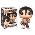 TEKKEN - POP FUNKO VINYL FIGURE 201 JIN KAZAMA BLACK & WHITE SUIT 9CM