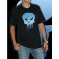 TEXMRV003L - PUNISHER T-SHIRT BLACK L