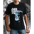 TEXMRV005XL - SILVER SURFER T-SHIRT BLACK XL