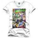 THE BIG BANG THEORY - T-SHIRT UOMO - VINTAGE WHITE - M