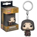 THE LORD OF THE RINGS  - POP FUNKO VINYL KEYCHAIN ARAGORN 4CM