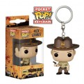 THE WALKING DEAD - POP FUNKO VINYL KEYCHAIN RICK GRIMES WITH BLOOD 4 CM