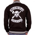 THE WALKING DEAD - TD001 - BASEBALL VARSITY JACKET SURVIVOR L