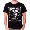 THE WALKING DEAD - TS015 - T-SHIRT BORDER OF BONES S