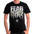 THE WALKING DEAD - TS020 - T-SHIRT FEAR BEGINS HERE L