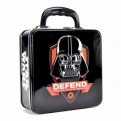 TOTESW04 - STAR WARS - TIN TOTE (EMBOSSED) - STAR WARS (DARTH VADER ICON)