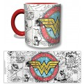 WONDER05 - TAZZA WONDER WOMAN COMICS