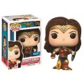 WONDER WOMAN MOVIE - POP FUNKO VINYL FIGURE 175 WONDER WOMAN BATTLE POSE WITH SHIELD