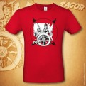ZAGOR - T-SHIRT - ODISSEA AMERICANA RED M