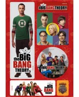 32452 - THE BIG BANG THEORY - MAGNET SET - A
