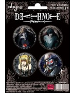 ABYACC040 - SET DI SPILLE DEATH NOTE PERSONAGGI