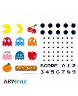 ABYDCO463 - PAC MAN - STICKERS 50X70 - CHARACTERS & MAZE