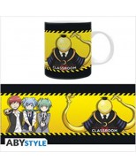 ABYMUG312 - ASSASSINATION CLASSROOM - TAZZA 320ML - KORO VS PUPILS