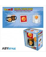 ABYPCK105 - DRAGON BALL - MINI-MUG + SOTTOBICCHIERE + BICCHIERE 'CRYSTAL BALL'