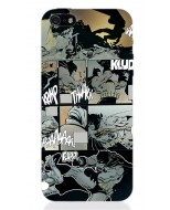 BATMAN66 - COVER IPHONE 5 MILLER COMICS BATTLE OPACA