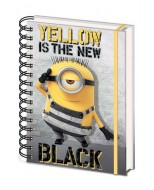 CATTIVISSIMO ME 3  - NOTEBOOK A5 - YELLOW IS THE NEW BLACK