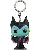 DISNEY - POP FUNKO VINYL KEYCHAIN MALEFICENT 4 CM