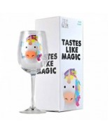 GL01JA06 - JOLLY AWESOME - GLASS WINE - JOLLY AWESOME (UNICORN)