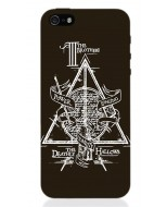 HP38 - COVER IPHONE 5 HARRY POTTER DEATHLY HALLOWS OPACA