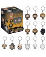 LORD OF THE RINGS - 32098 MYSTERY MINI BLIND BOX KEYCHAIN - DISPLAY 12PZ