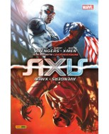 MARVEL MINISERIE 157 - AVENGERS & X-MEN: AXIS 1 COVER INVERSIONE