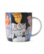 MUGBDF08 - DISNEY CLASSIC - MUG BOXED (325ML) - DISNEY FAVOURITES (100% PRINCESS)
