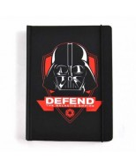 NBA5SW04 - STAR WARS - A5 NOTEBOOK - STAR WARS (DARTH VADER ICON)