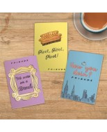 PP5564FR - FRIENDS - FRIENDS SET OF 3 NOTEBOOKS