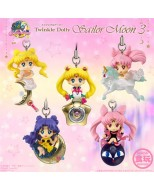 SAILOR MOON - TWINKLE DOLLY V.3 - ESPOSITORE 10 PEZZI - PORTACHIAVI